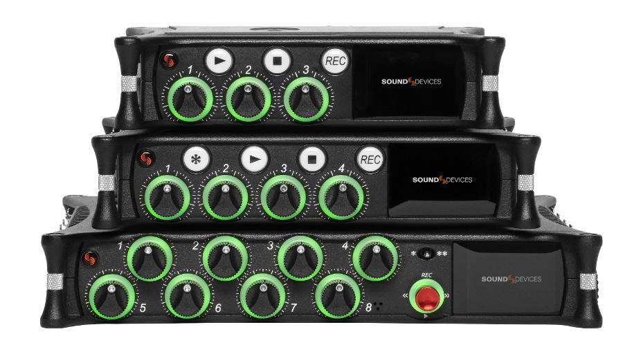 Neue Fieldrecorder/Mischergeneration: Audiogeräte MixPre-3/6/10 II II // IBC 2019