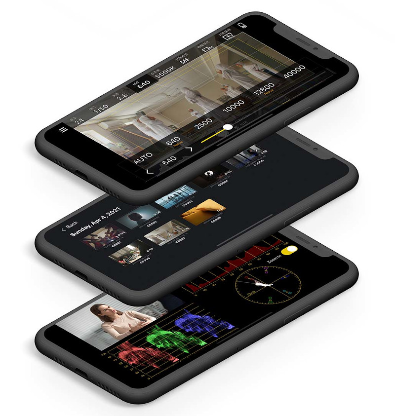Monitor+: Free app turns smartphones into professional preview monitor for Sony cameras