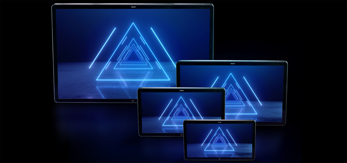 Four New Atomos - HDR Cinema Monitor Recorders - Neon17 to Neon55