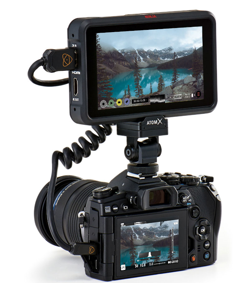 New Ninja V firmware AtomOS 10.63 brings ProRes RAW for Sony A1, FX3 and Panasonic BGH1