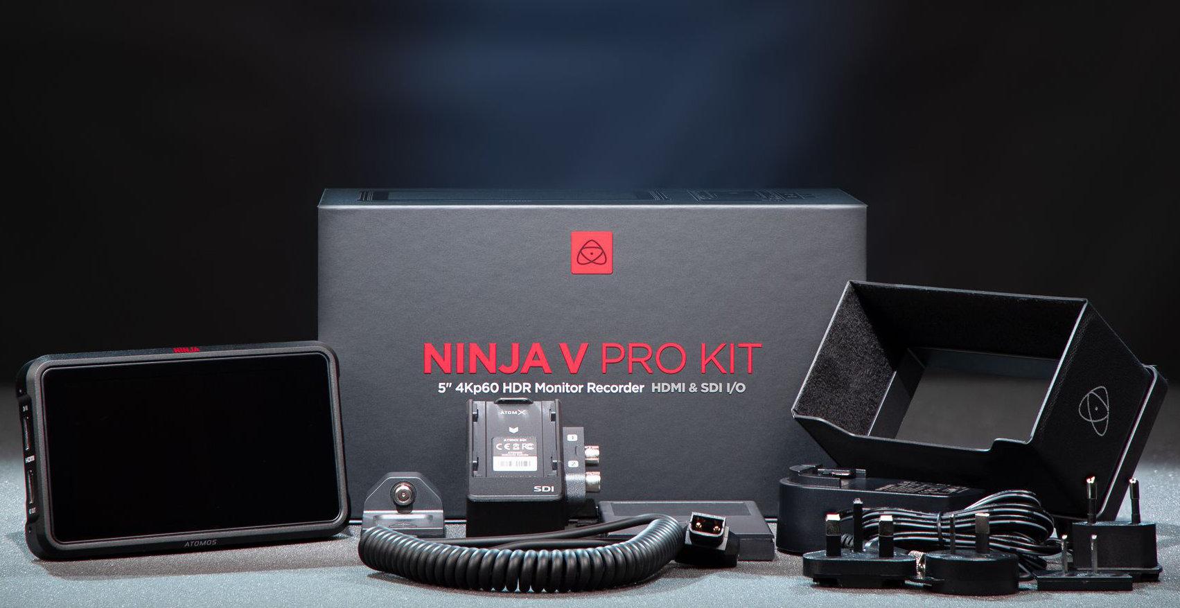 New Ninja V Pro Kit available from Atomos