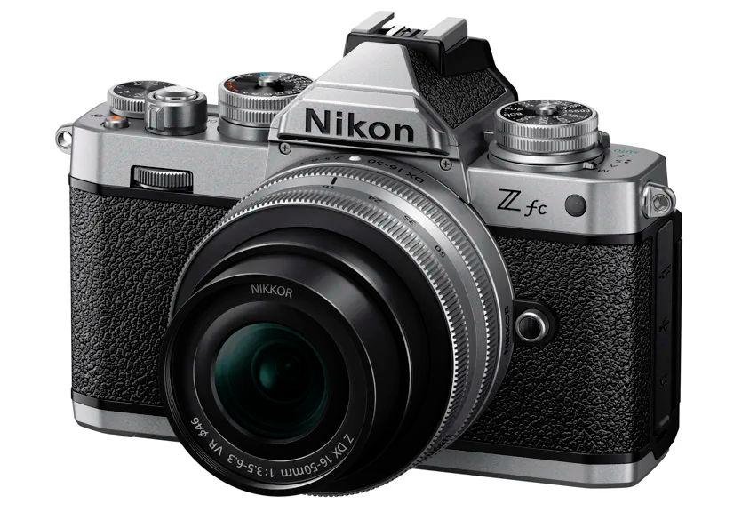 Nikon Z fc - mirrorless camera for retro fans