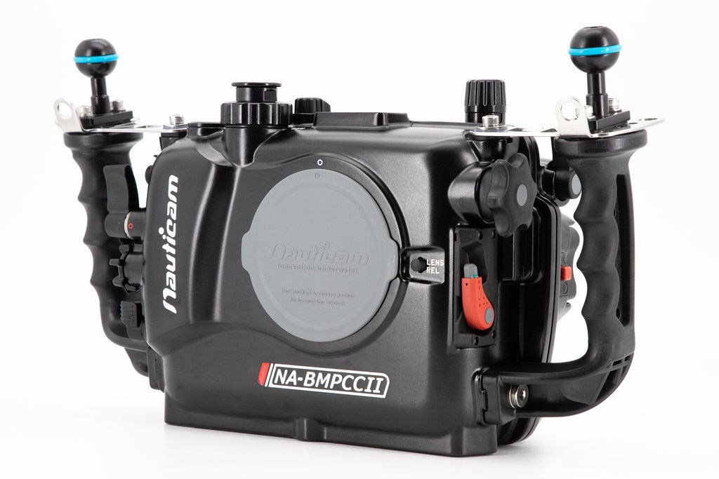 Underwater housing for the Blackmagic Pocket Cinema Camera 4K available