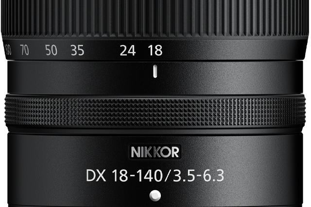Lightweight travel zoom lens NIKKOR Z DX 18–140 mm 1:3,5–6,3 VR