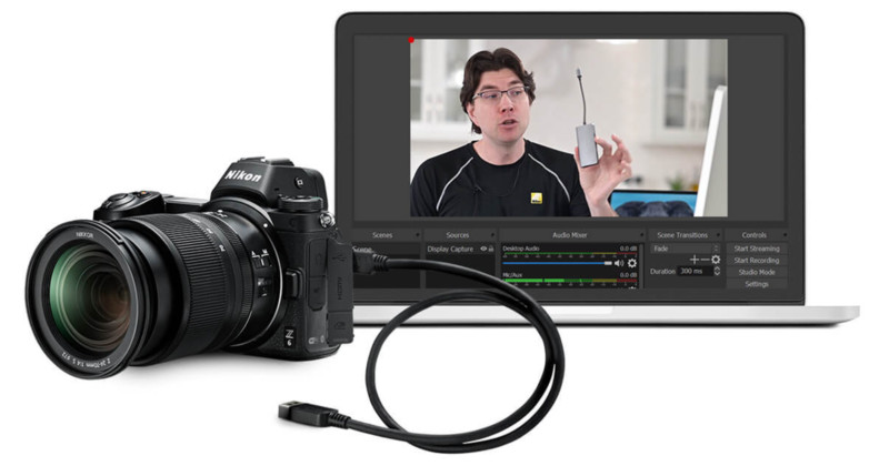 Nikon webcam utility for mirrorless and DSLR cameras is now official