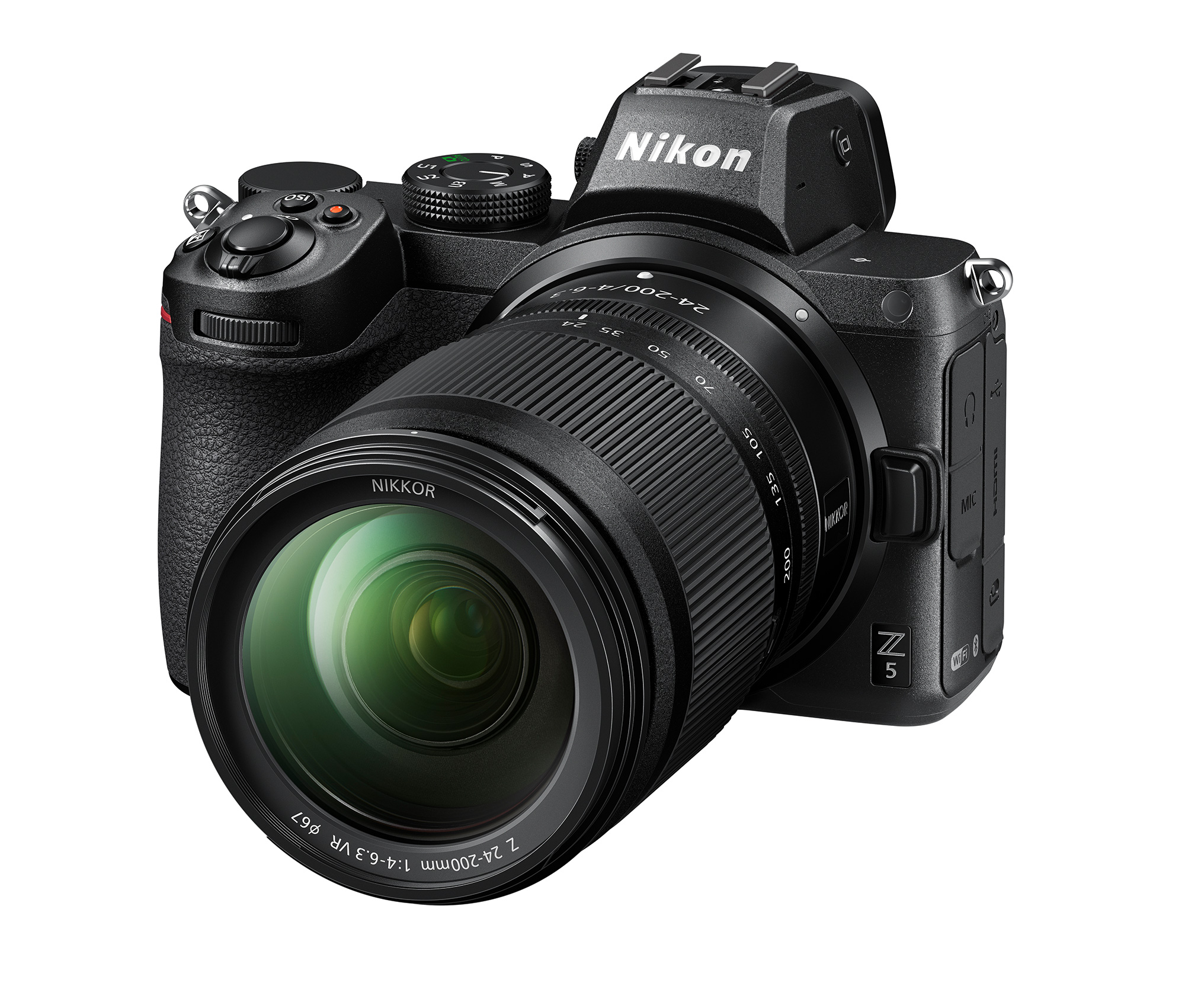 Nikon Z5: Powerful entry-level full format DSLM incl. sensor stabilisation, dual card slots and much