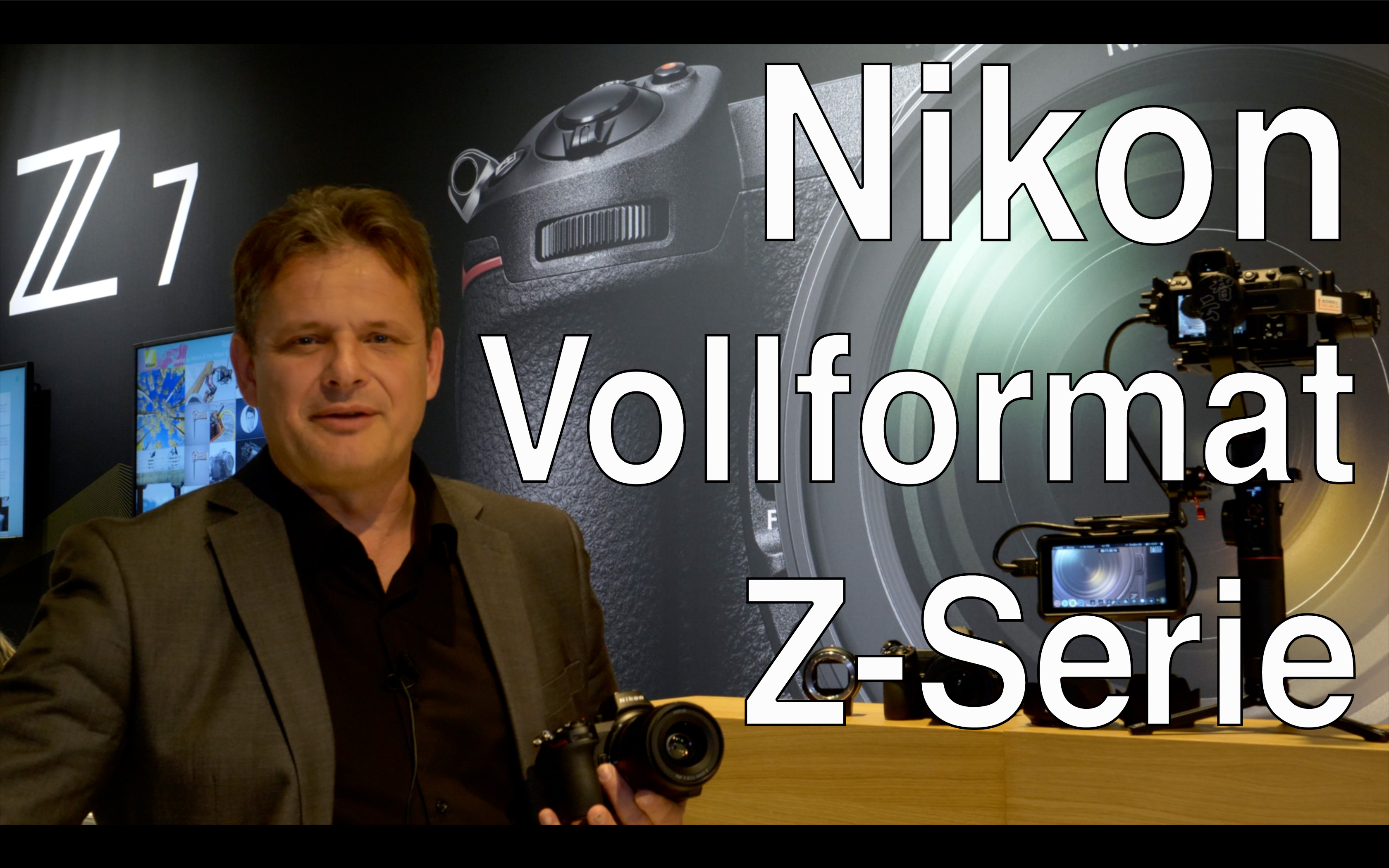 Nikon Z6 and Z7: 4K 10 Bit N-Log, Fullsensor Readout, XQD, Sensorstabi and much more // Photokina 20