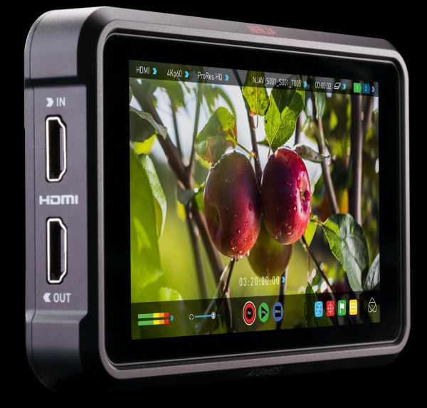Atomos: New firmware 10.55 for Ninja V brings ProRes RAW ISO metadata