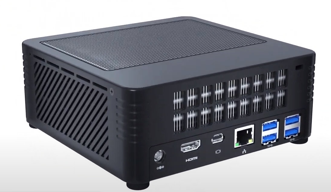 Minisforum H31G - Smallest Mini-PC with GPU
