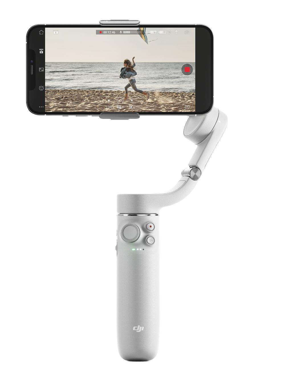 DJI OM5: Smart smartphone gimbal with integrated selfie stick for 159 euros
