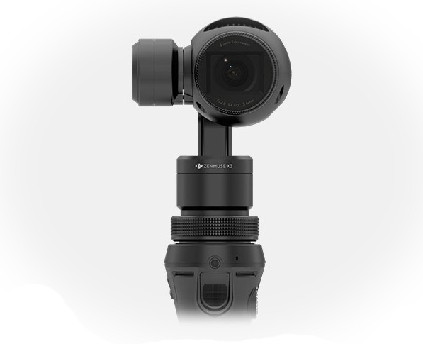 DJI Bringt Hand Gimbal Kamera OSMO ZENMUSE X3