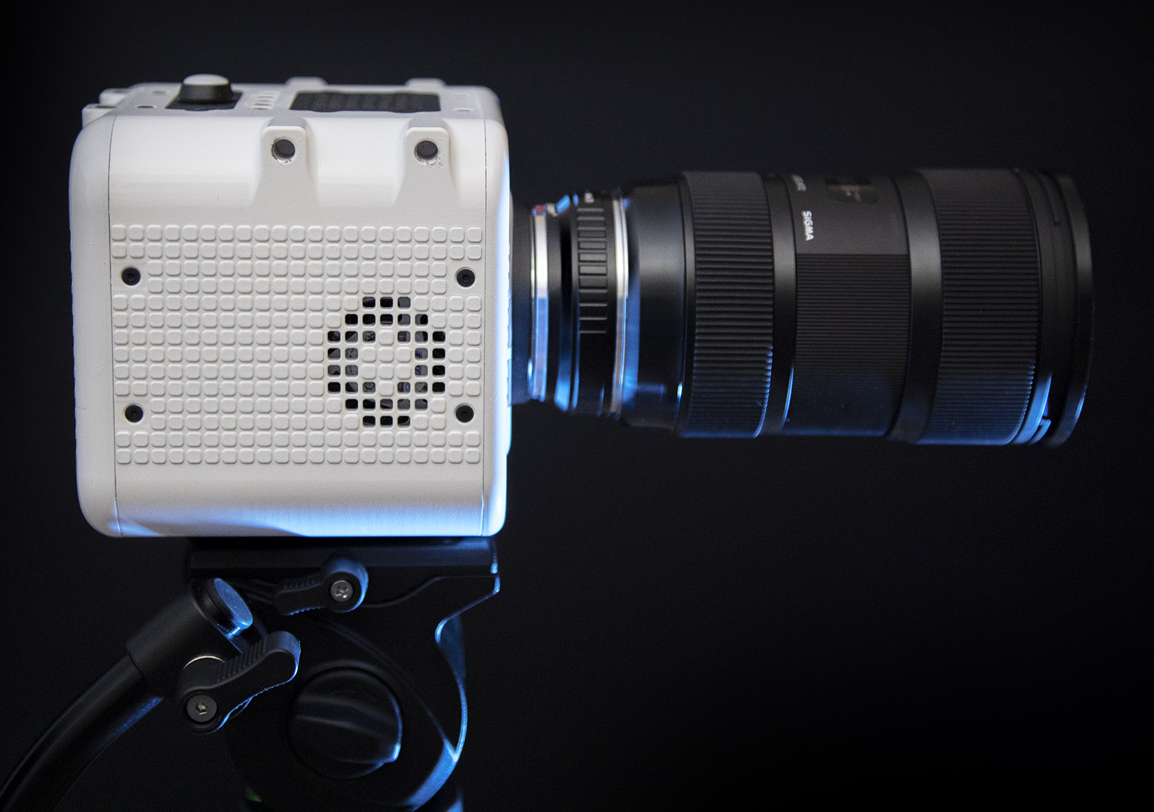 Octopus camera made from standard components - now with 8K RAW promise