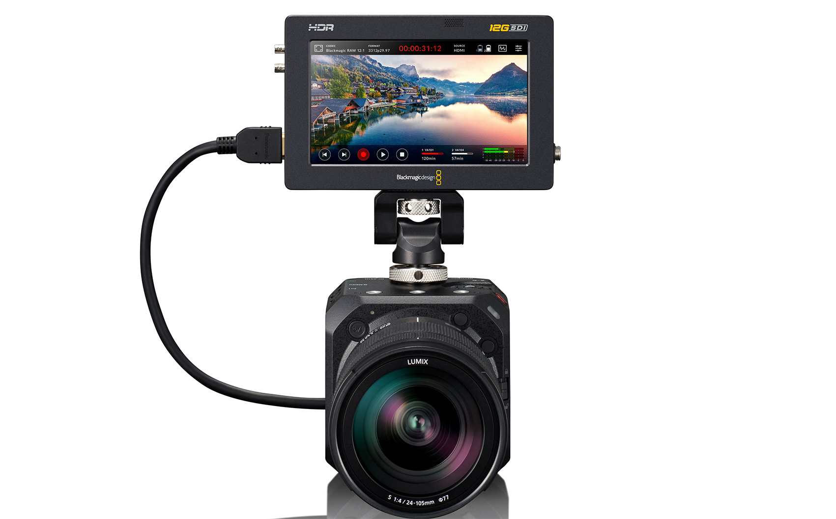 Panasonic firmware update brings Blackmagic RAW for GH5S and BGH1