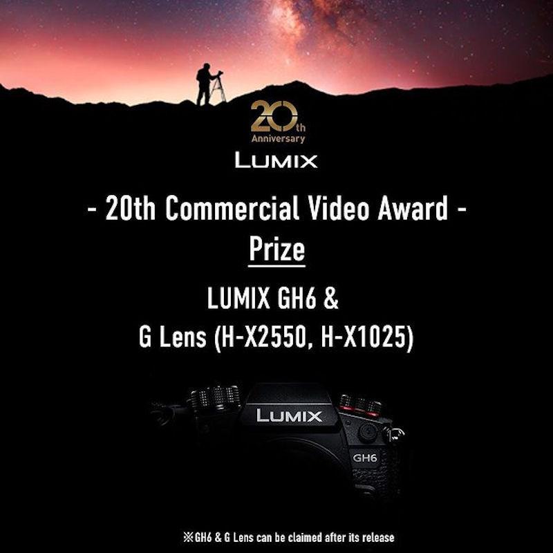 Panasonic Lumix Video Contest: GH6 to win!