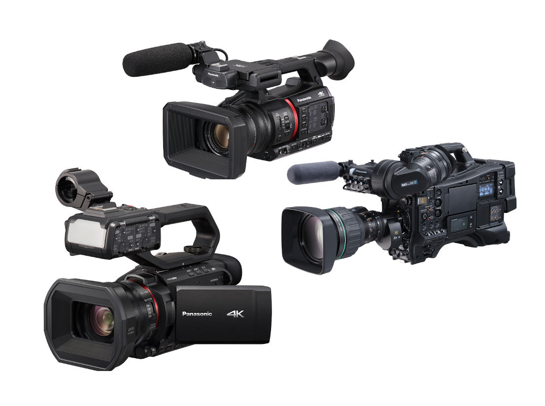 New firmware for Panasonic CX350, CX10 and CX4000GJ cameras brings AVC proxies and 4K streaming, amo
