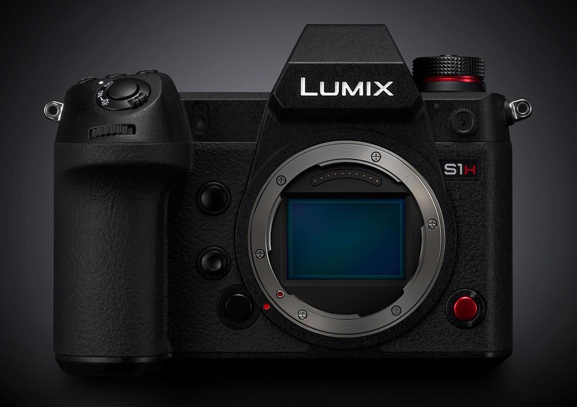 Panasonic Announces S1H - World's First Mirrorless 6K Cine Full-Frame System Camera