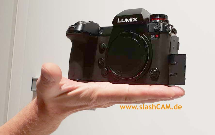 Exclusive: more images showing Panasonic Lumix S1(R) // Photokina 2018