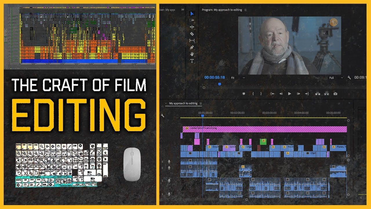Videotutorial: The Art of Film Editing: Oscar Winner Paul Hirsch (Star Wars, Mission Impossible etc.