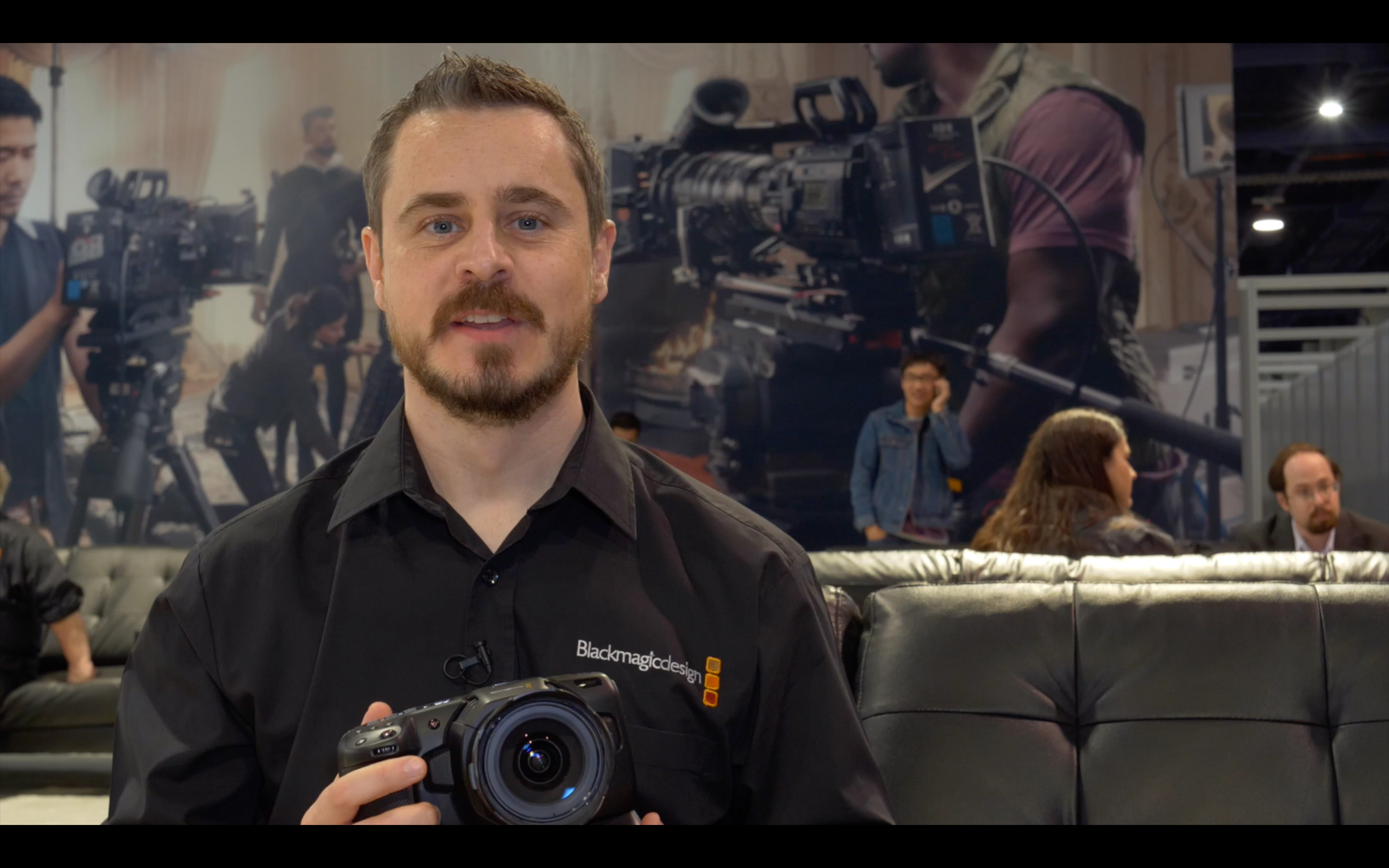 NAB video: Blackmagic Pocket Cinema Camera 4K Battery Handle: Why Sony L-Type Batteries? Charging ti