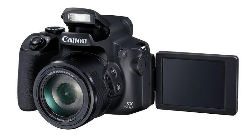 auch die bridge kamera canon powershot sx70 hs bekommt 4k. Black Bedroom Furniture Sets. Home Design Ideas