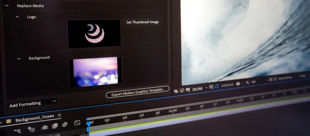 Adobe Premiere Pro Update 14.6 brings fast export and media replacement to motion graphics templates