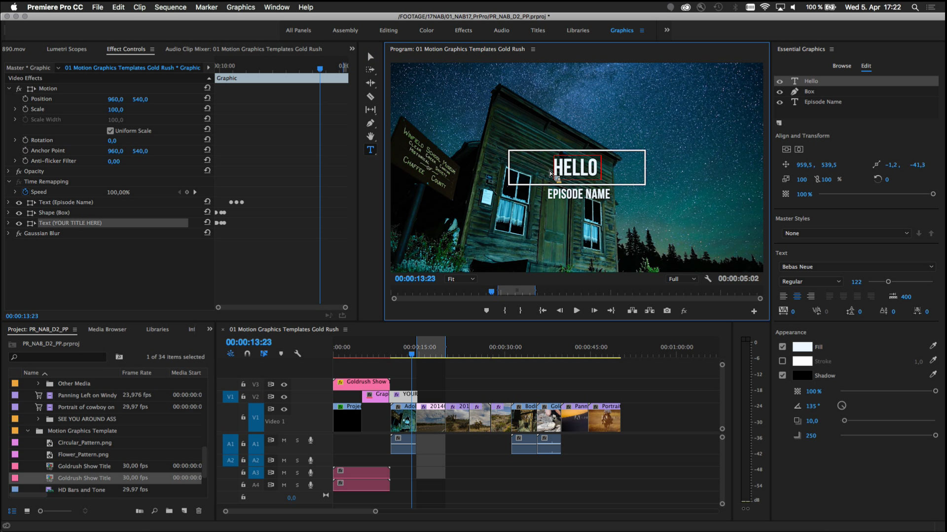 Improved encoding and decoding: Updates for Adobe Premiere Pro (12.1.2) and After Effects (15.1.2)