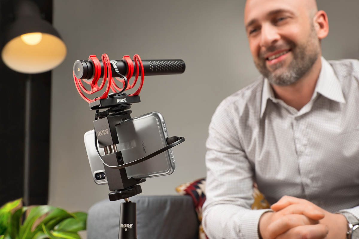 RØDE VideoMic NTG Firmware Update brings full iOS compatibility and new features