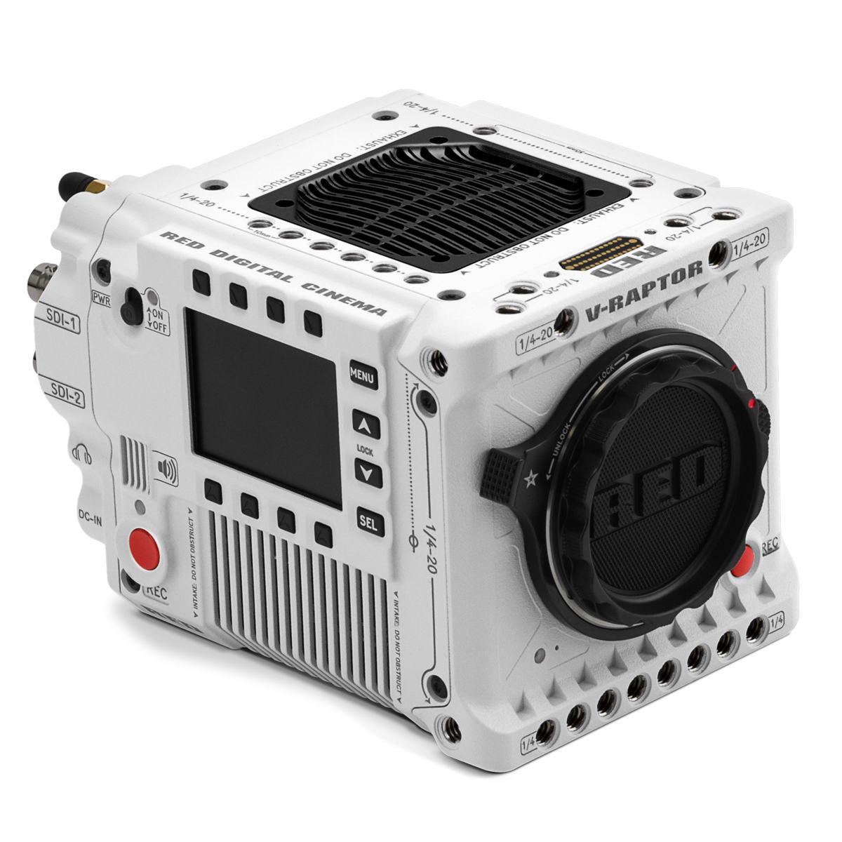 Neue RED DSMC3 V-Raptor Kamera: 8K REDCODE RAW mit 120 fps auf CFexpresskarte und WLAN