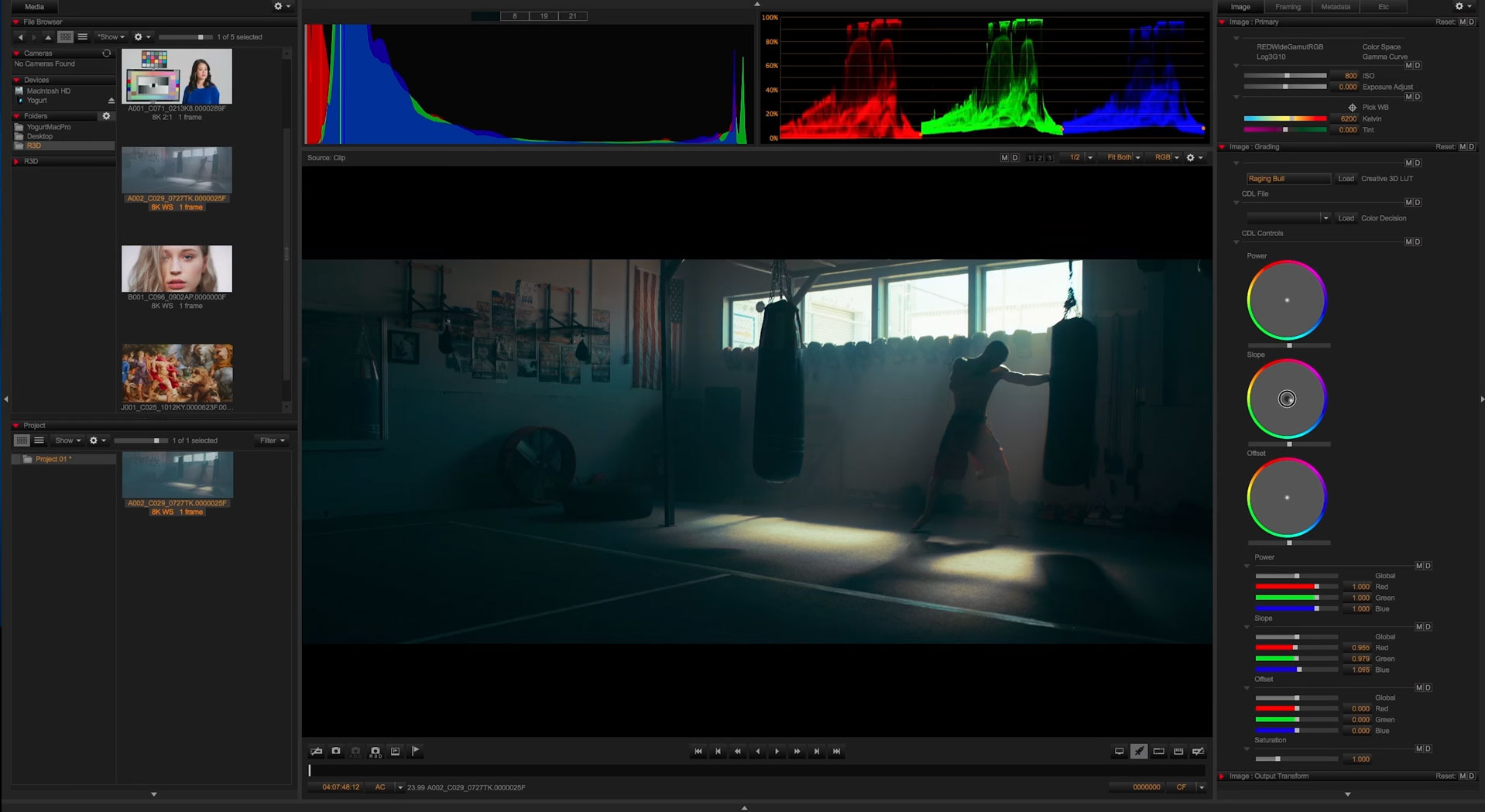 REDCINE-X PRO now with massive acceleration via CUDA