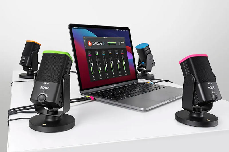 RØDE Connect: Free podcast and streaming tool for up to four NT-USB mini mics