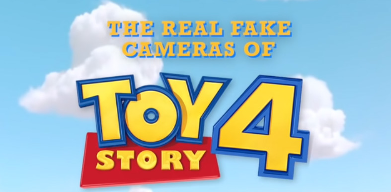 The real fake cameras and lenses in Toy Story 4