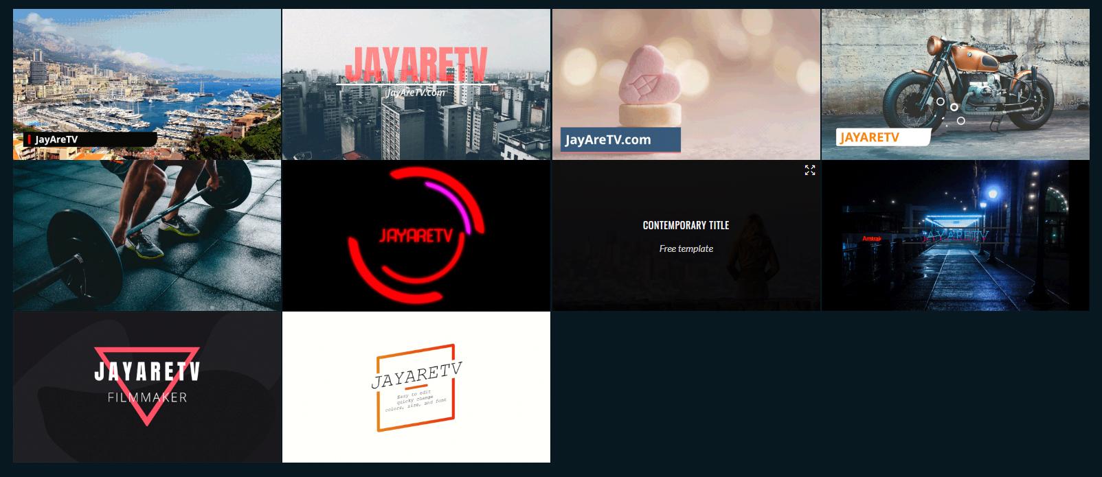 Slashcam News : Ten free DaVinci Resolve title templates