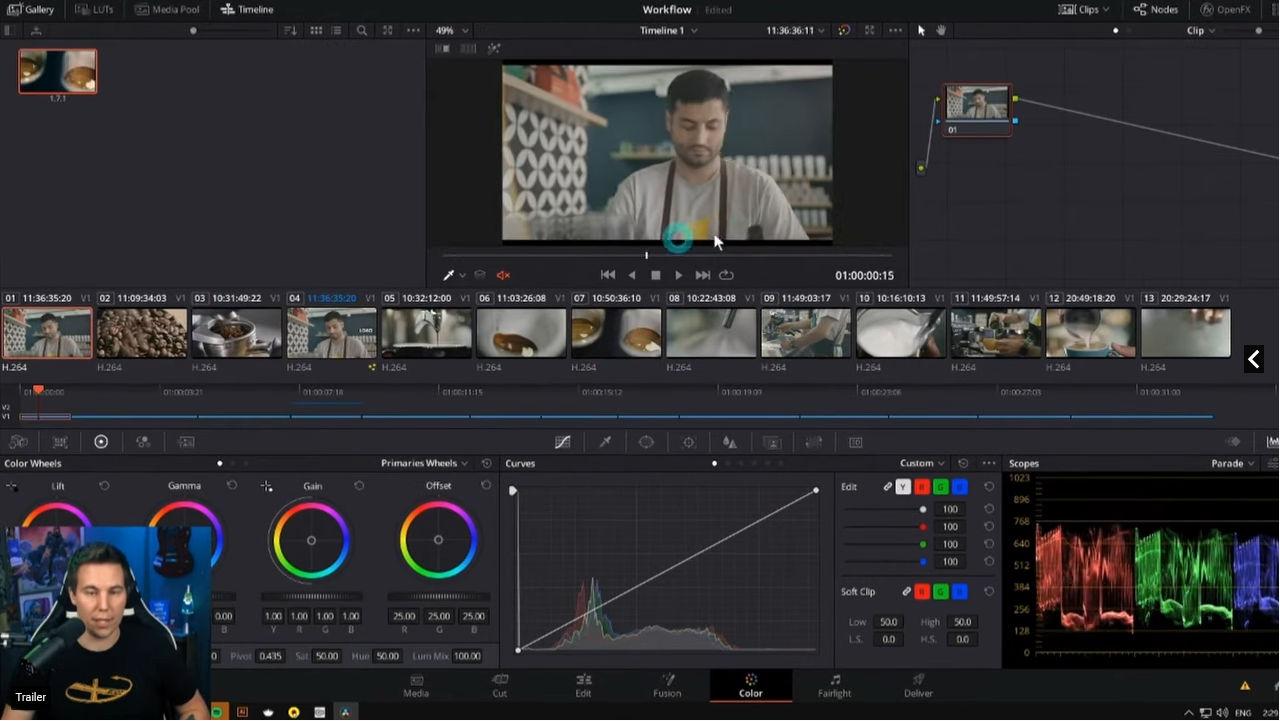 Resolvecon 2021: Now 7 hours free live training on DaVinci Resolve
