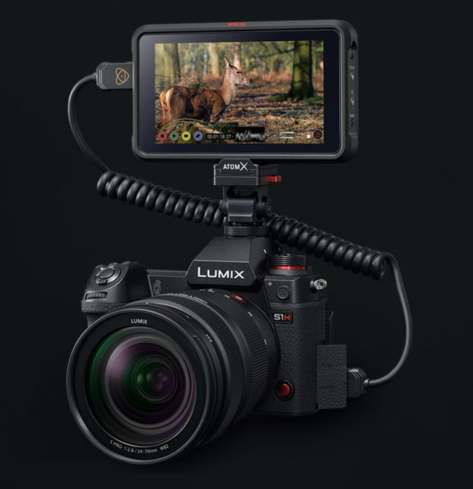 For Panasonic-S1H (RAW) filmers: AtomOS Firmware 10.52 for Atomos Ninja V is official