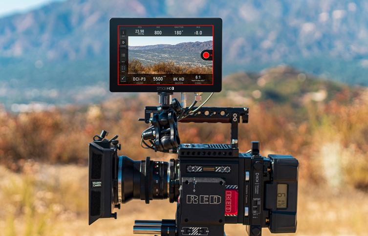 smallHD Cine 7 Monitor: Control for RED DSMC2 cameras via Pay-Upgrade // IBC 2019