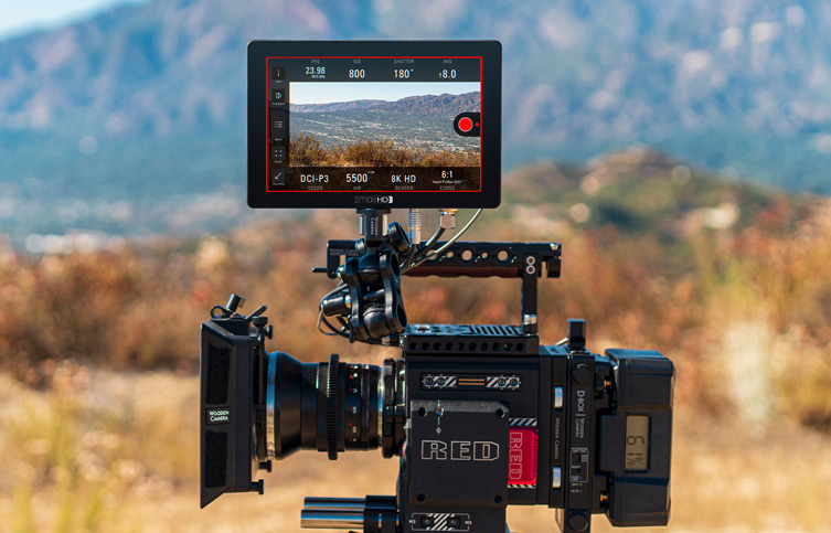 smallHD massively reduces prices for Cine 7 monitors including ARRI/RED camera control