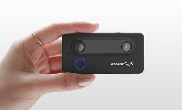 Small 3D camera successfully financed on kickstarter