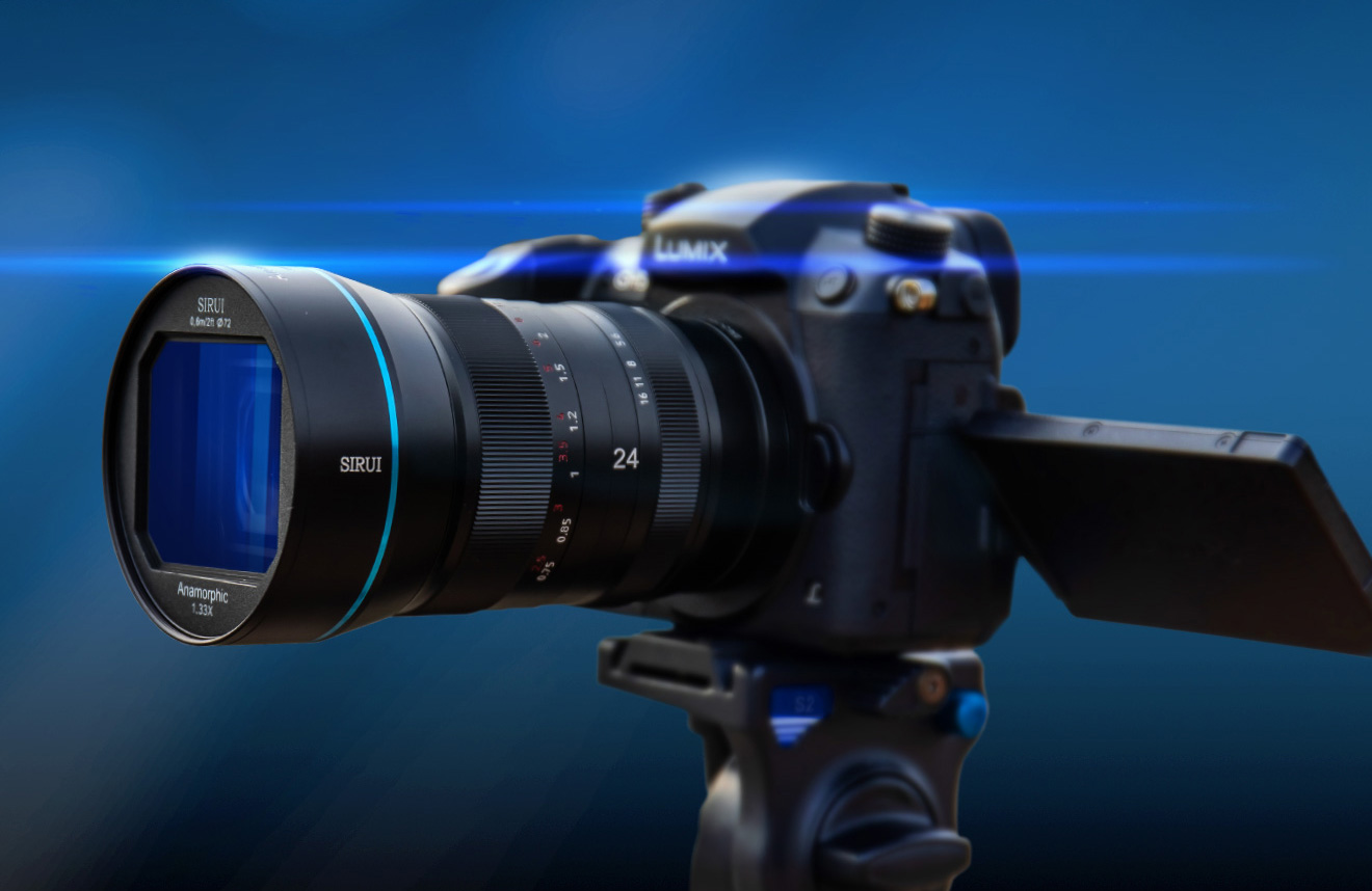 SIRUI 24mm F2.8 1.33X Anamorphic Lens announced
