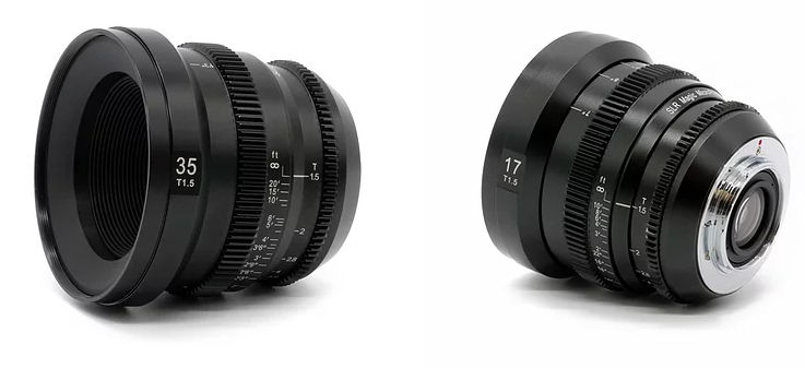 New MFT MicroPrime Cine lenses from SLR Magic (17mm and 35mm T1.5)