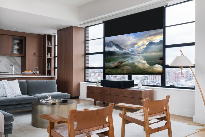 Sony for with new 4K short-throw laser projector $ 25,000 // CES 2017