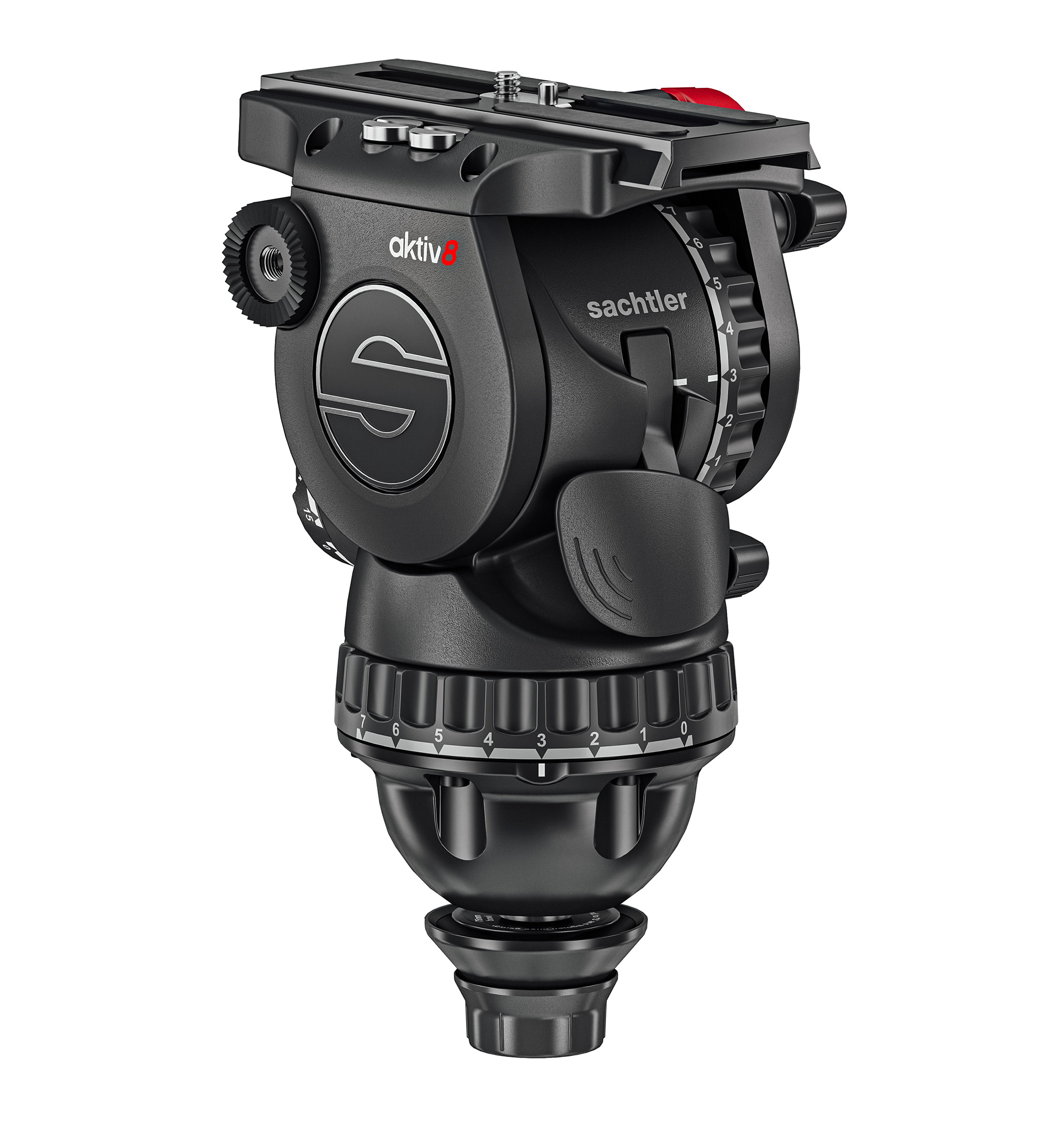 Sachtler presents the fastest fluid head system with the aktiv tripod head series