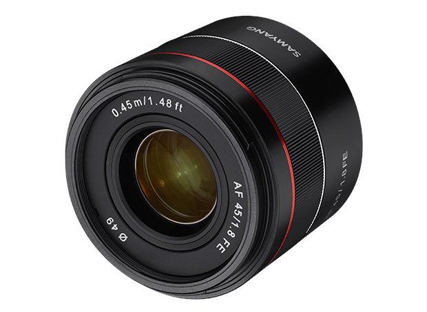 Samyang AF 45mm F1.8 FE -- new compact fullframe lens for Sony E-mount