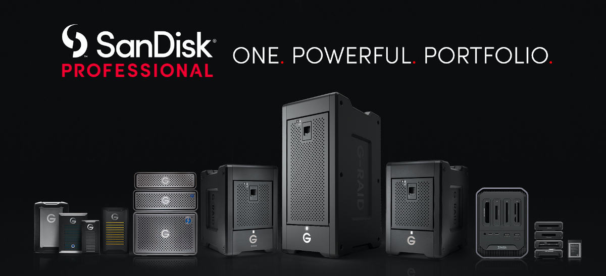 Western Digital launches new SanDisk Professional series