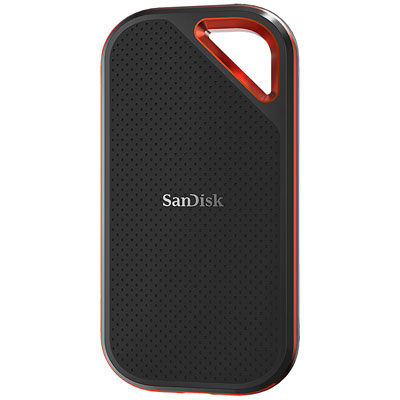 SanDisk Extreme Pro Portable SSD: Compact SSD with 1 GB /s via USB 3.1 Gen 2 // CES 2019