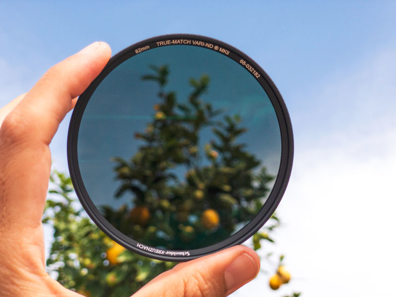 New variable ND filter: Schneider-Kreuznach True-Match Vari-ND MKII