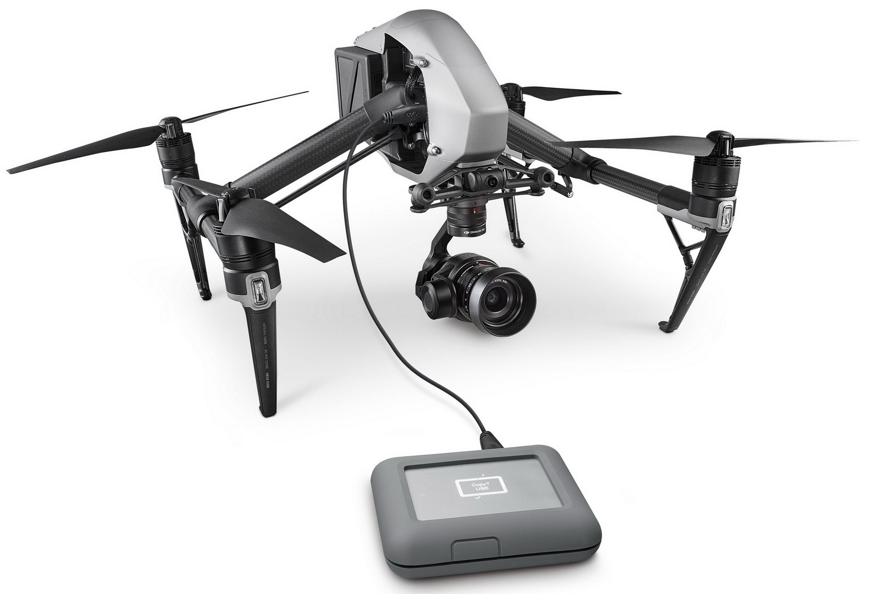 New mobile storage from Seagate: LaCie DJI Copilot, Fast SSD and LaCie Rugged Secure