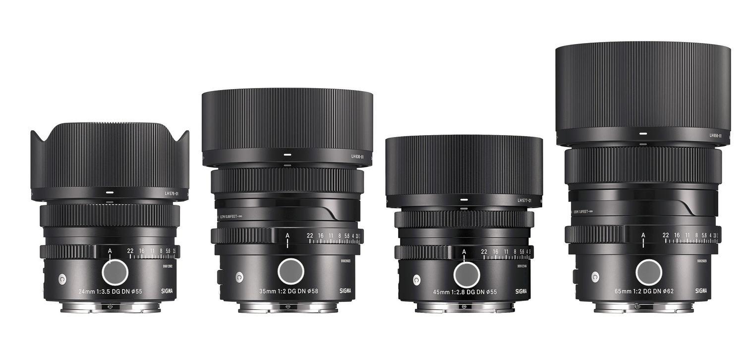 Sigma: Three new I-Series lenses for DSLMs
