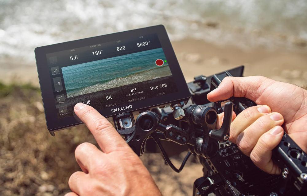 SmallHD Indie 7: camera monitor with 1.000 nits brightness