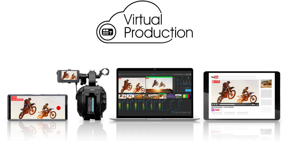 New features for Sony's Virtual Production Services for live productions over the network