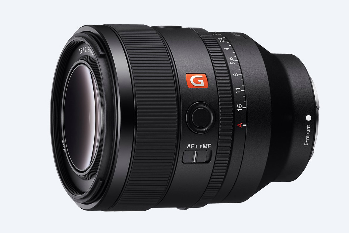Sony introduces fast E-mount 50 millimetre F1.2 GM for professional photo and video users